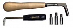 Jahn Pear-Handle Tuning Hammer Kit