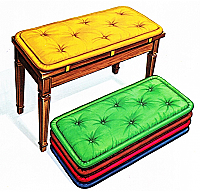 Schaff Performer Bench Pad