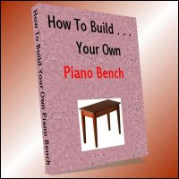 How To Build Your Own Piano Bench