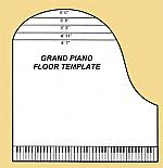 Grand Piano Floor Template